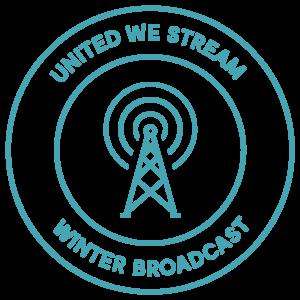 United We Stream winter broadcast logo
